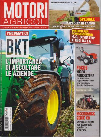 Motori Agricoli - n. 4 - bimestrale - giugno - luglio 2019