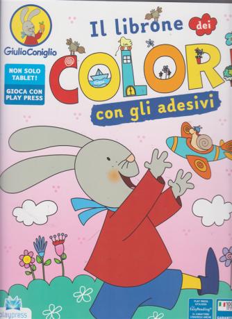 Giulio Coniglio - Il librone dei colori - n. 5 - luglio -agosto 2019 - bimestrale