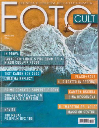 Foto Cult - n. 163 - luglio 2019 - mensile -