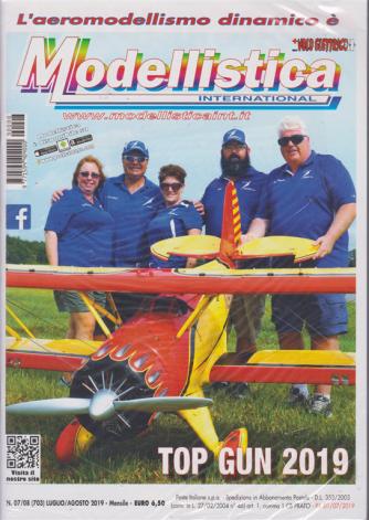 Modellistica International - n. 7/8 - luglio - agosto 2019 - mensile