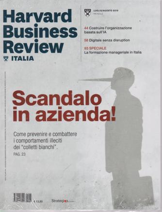 Harward Business Review - n. 8 - luglio - agosto 2019 - mensile