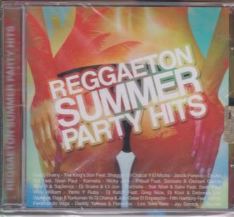 Reggaeton summer party hits - n. 4 - rivista + cd - agosto - settembre 2019 - bimestrale