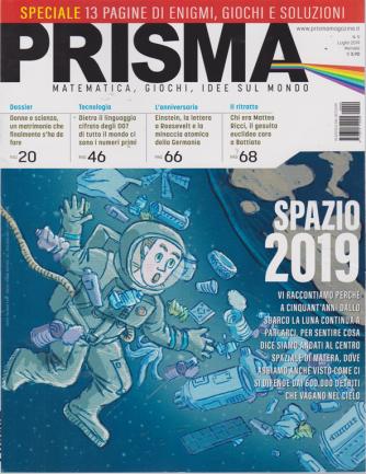 Prisma - n. 9 - luglio 2019 - mensile - speciale 13 pagine di enigmi, giochi e soluzioni