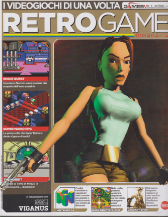 Retrogame Extra - n. 7 - bimestrale - marzo - aprile 2019 -