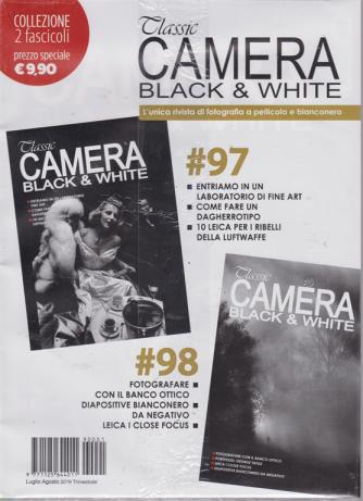Classic Camera black & white - n. 97 - 98 - trimestrale - luglio -agosto 2019 - 2 riviste