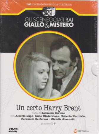 Gli sceneggiati rai giallo & mistero - Un certo Harry Brent puntate 1-3 - settimanale - 6/7/2019 -