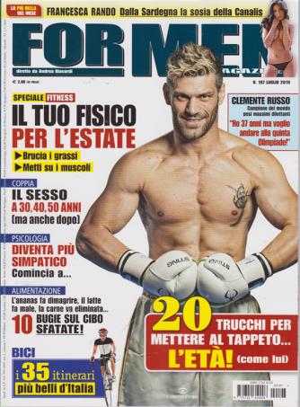 For Men Magazine - n. 197 - luglio 2019 - mensile