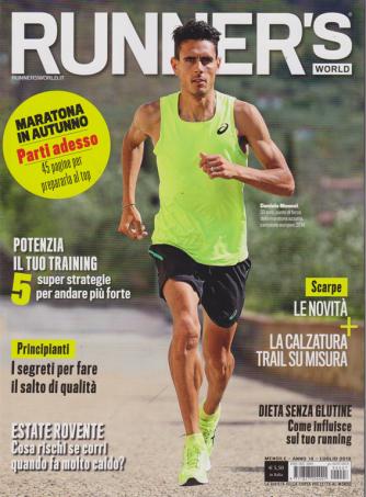 Runner's World - n. 7 - mensile - luglio 2019