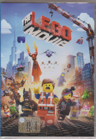 I Dvd Di Sorrisi - n. 8 - The Lego movie - settimanale - 26/2/2019