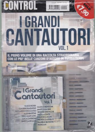 Saifam Music Control - I Grandi Cantautori - n. 1 - rivista + cd -