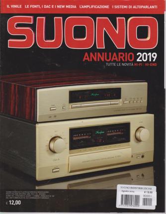 Suono - Annuario 2019 - agosto 2019 -
