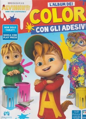 Alvin L'album Colori - And the chipminks n. 1 - luglio - agosto 2019 - bimestrale