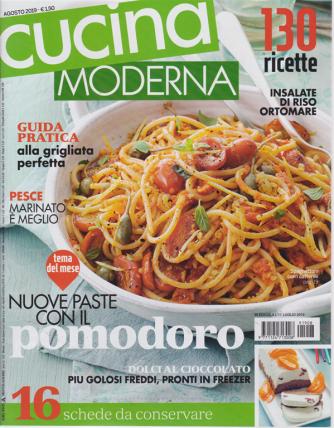 Cucina Moderna - n. 8 - agosto 2019 - mensile