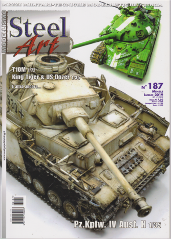Steel Art - n. 187 - mensile - luglio 2019 -