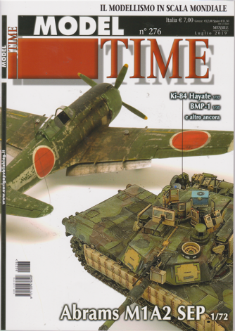 Model Time - n. 276 - mensile - luglio 2019 -