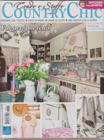 Country Chic - Tende E Stoffe - + Vivere country - n. 59 - bimestrale - luglio -agosto 2019 - 2 riviste