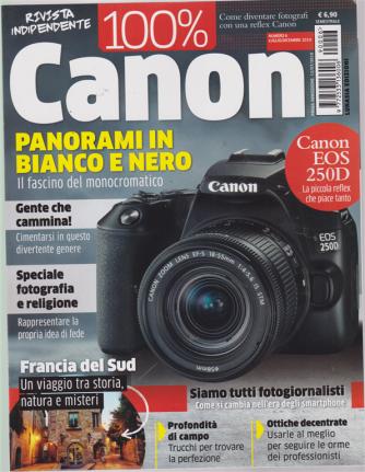 100 % Canon - n. 6 - luglio - dicembre 2019 - semestrale