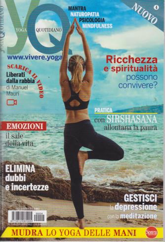 Yoga quotidiano - n. 4 - bimestrale - luglio -agosto 2019 -