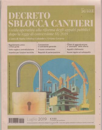 Decreto sblocca cantieri - n. 2 - luglio 2019 - bimestrale -