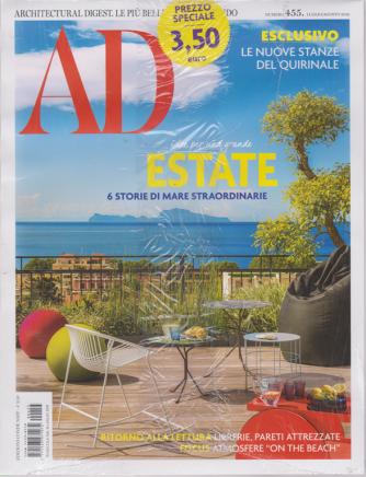Ad-Architectural Digest - n. 455 - luglio -agosto 2019 - mensile