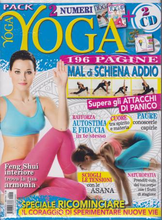 Vivere Lo Yoga Pack - n. 4 - bimestrale - luglio -agosto 2019 - 2 numeri + 2 cd - 196 pagine