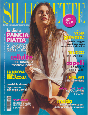 Silhouette donna pocket - n. 8 - agosto 20019 - mensile