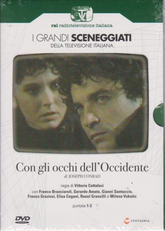 I grandi sceneggiati della televisione italiana - Con gli occhi dell'Occidente - puntate 1-3 - settimanale - 18/7/2019 -