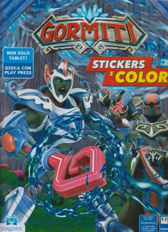 Gormiti Stickers e colori n. 2 - agosto - settembre 2019 - bimestrale
