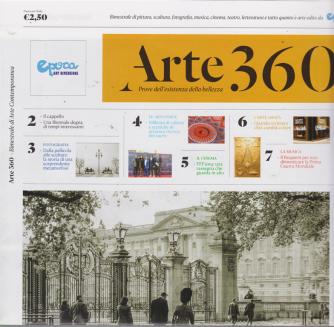 Arte 360 - n. 1 - luglio - agosto 2019 - bimestrale