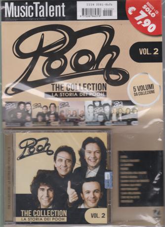 Music Talent  Pooh - The collection - La storia dei Pooh - vol. 2 - rivista + cd -