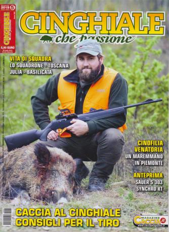 Cinghiale Che Passione - n. 5 - bimestrale - agosto - settembre 2019
