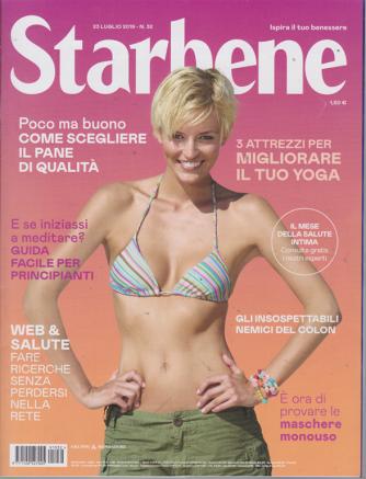 Starbene - n. 32 - 23 luglio 2019 - settimanale