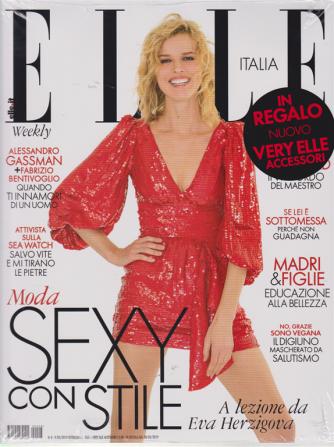 Elle + Very Elle accessori - n. 8 - 9/3/2019 - settimanale - 2 riviste