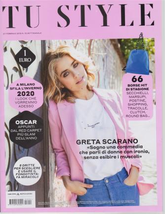 Tu Style - n. 10 - settimanale - 27 febbraio 2019 -