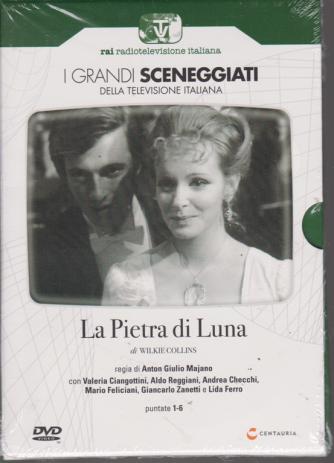 I grandi sceneggiati della televisione italiana - La Pietra di Luna - puntate 1-6 - settimanale - 25/7/2019 -