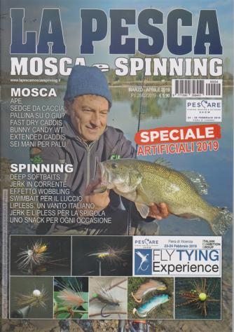 La pesca mosca e spinning - n. 4 - marzo - aprile 2019 - bimestrale -