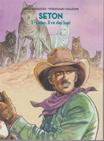 Jiro Taniguchi - Seton Vol.14 - Lobo, il re dei lupi - settimanale -