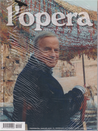 L'opera - International magazine - n. 39/40 - mensile - 10/7/2019 - 2 riviste