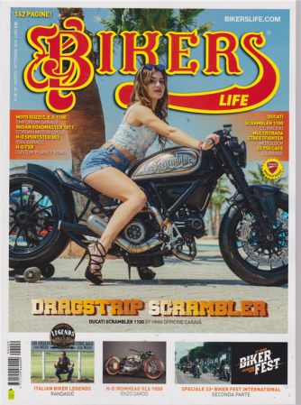 Bikers Life - n. 9 - agosto - settembre 2019 - 162 pagine! - mensile