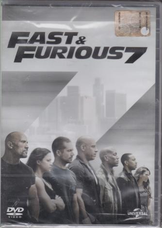 I Dvd Di Sorrisi2 - Fast&Furious 7 - n. 20 - settimanale - 30/7/2019