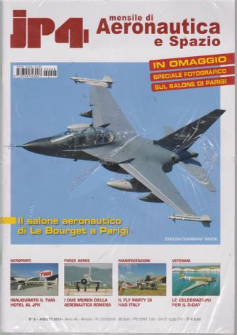 Jp4 - Mensile di Aeronautica e Spazio - n. 8 - mensile - agosto 2019