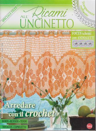 Ricami All'uncinetto - Speciale filet - n. 23 - bimestrale - agosto - settembre 2019 -