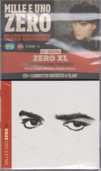 Cd Musicali Di Sorrisi n. 31 - settimanale - Mille e uno Zero - Uscita n. 31 - Zero XL - CD + libretto