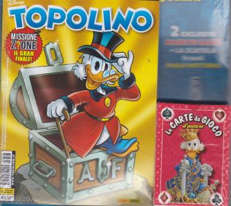 Edizione speciale Topolino + Le carte da gioco d'autore - n. 3323 - settimanale - 31 luglio 2019