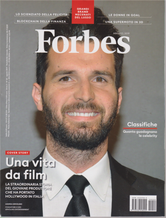 Forbes - n. 22 - agosto 2019 - mensile