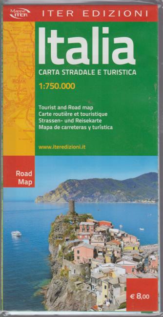 Mappa Italia - Carta stradale e turistica 1:750.000 -