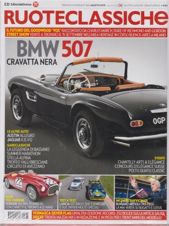 Ruoteclassiche Split - + Gran turismo go - kart feeling - n. 368 - mensile - agosto 2019 - 2 riviste