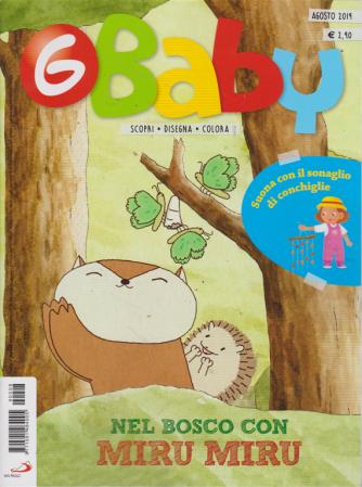G-Baby - Fumetti Giochi Attività - n. 8 - agosto 2019 - mensile