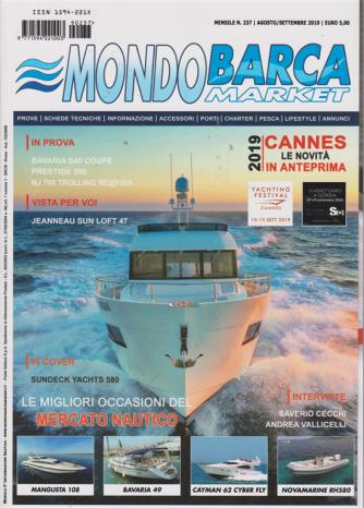 Mondo Barca Market - Agosto-Settembre 2019 - n. 237 - mensile