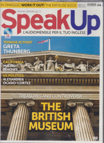 Speak Up - n. 413 - agosto 2019 - mensile - rivista + cd audio